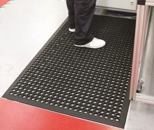 workstation rubber matting