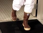 boot dip mat
