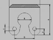 keyhole composite fender profile