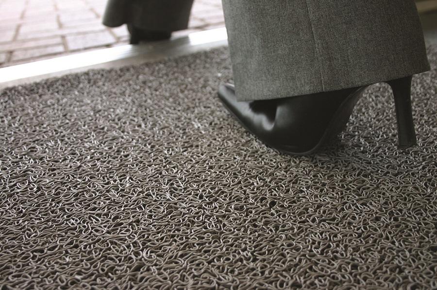 brown brownribbedbarrierentrancematting barrier mat ribbed matting entrance