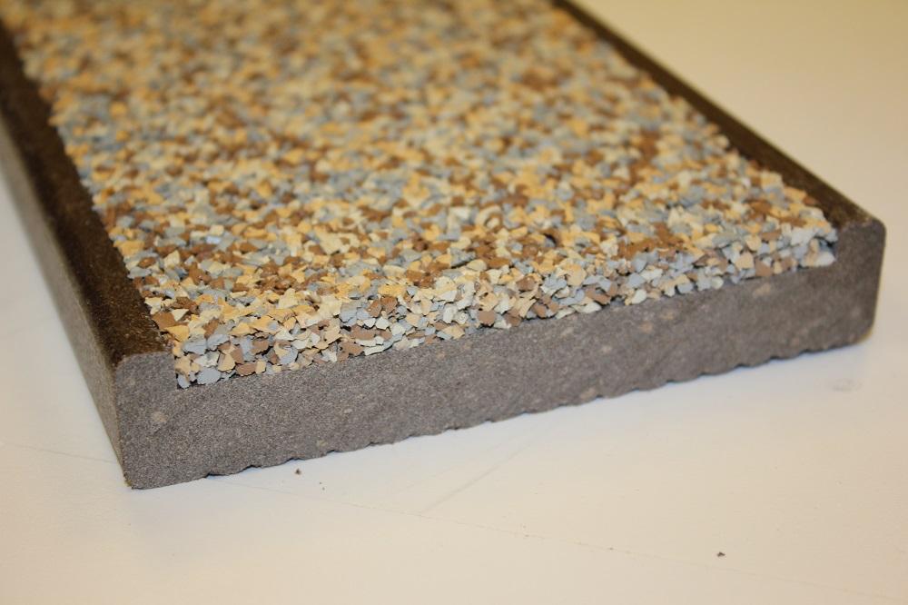 Anti Slip Decking Composite : Non slip decking safadek the rubber company