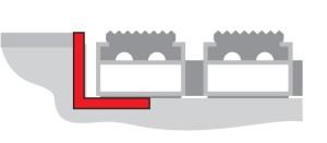 aluminum frame
