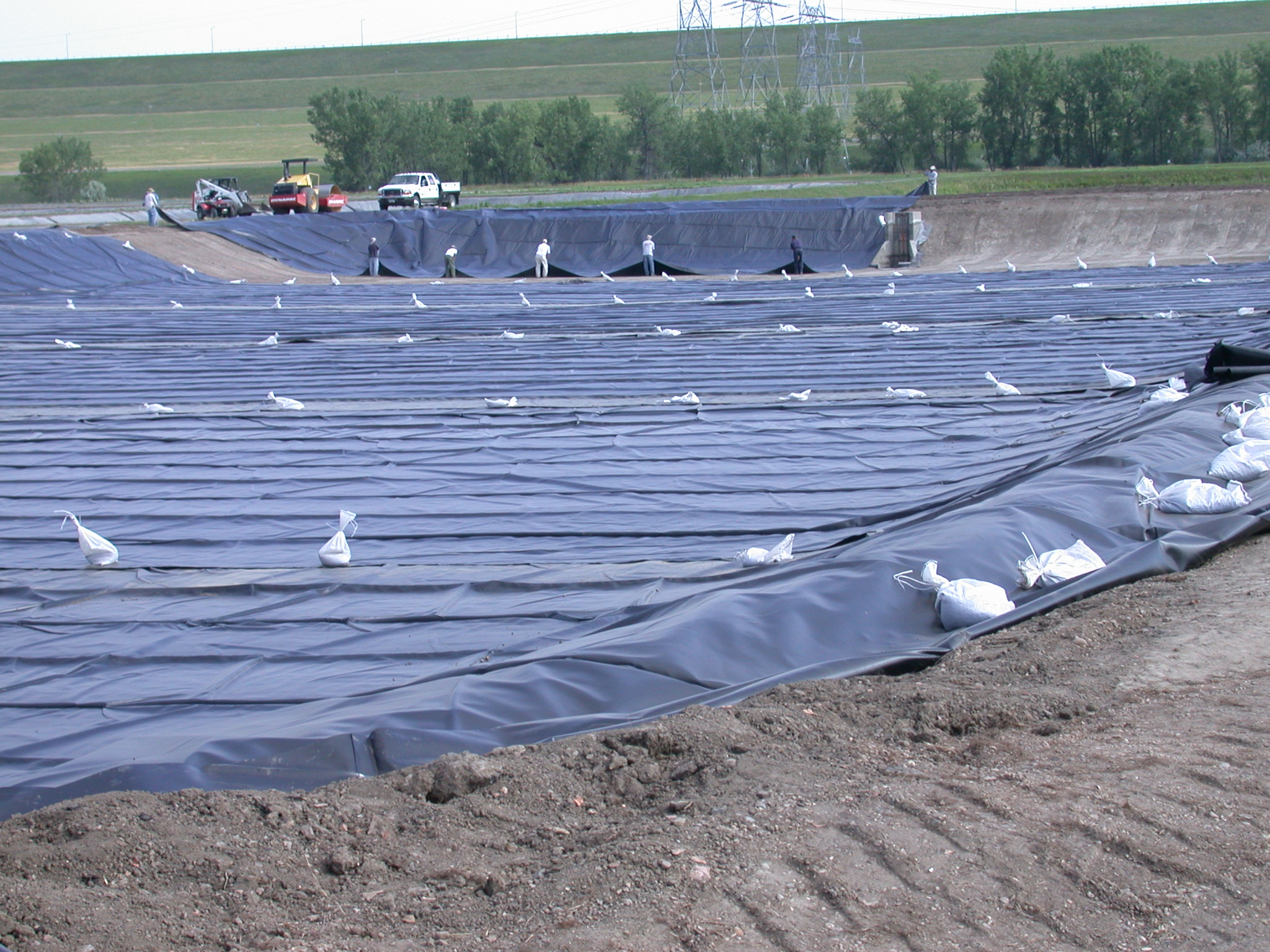epdm geomembrane pond liner the rubber company
