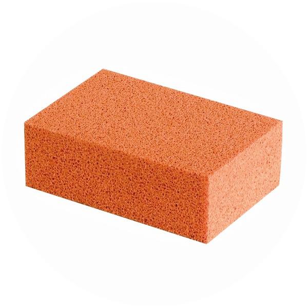 Open Cell Sponge Sheet Orange The Rubber Company