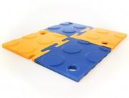studded interlocking tiles