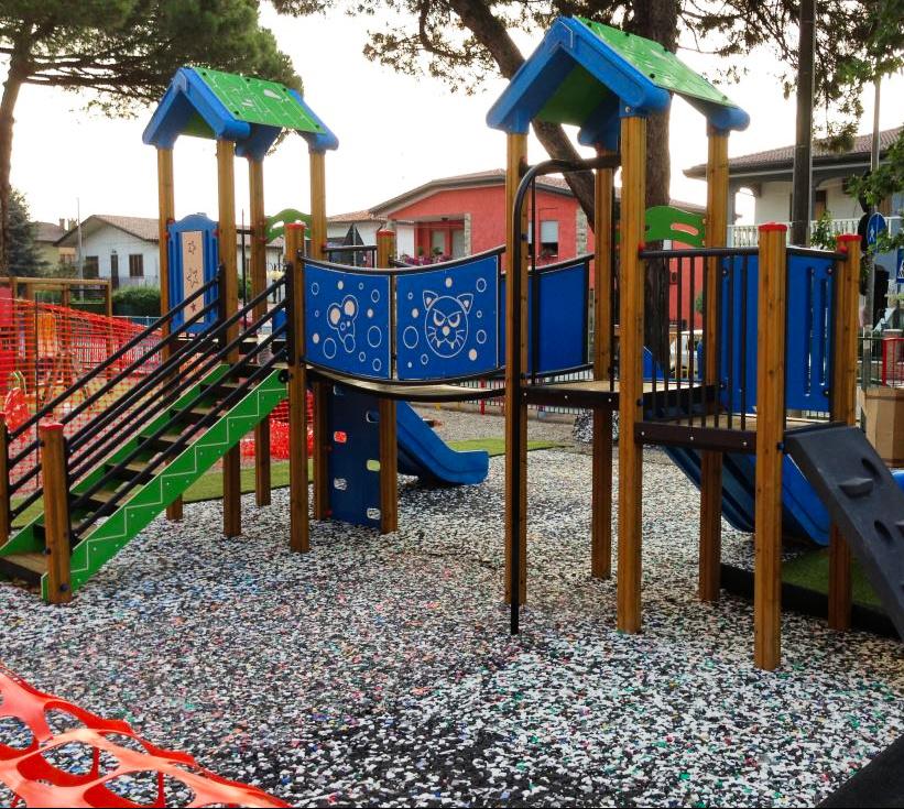 Shock Pad Playground