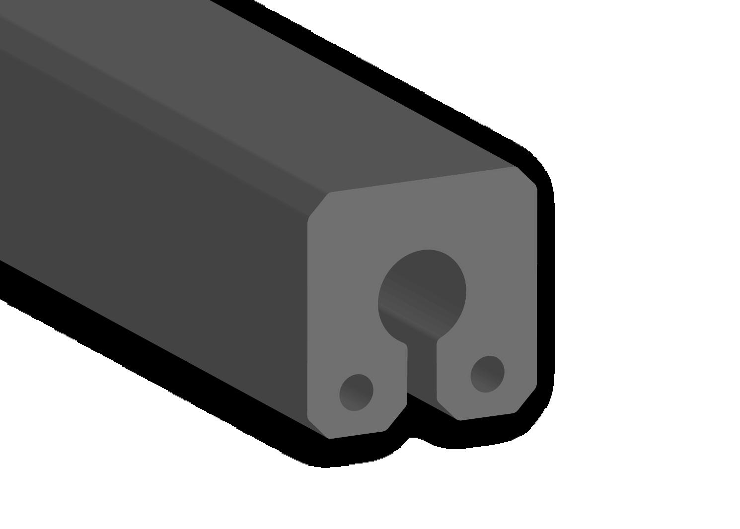 keyhole composite fenders