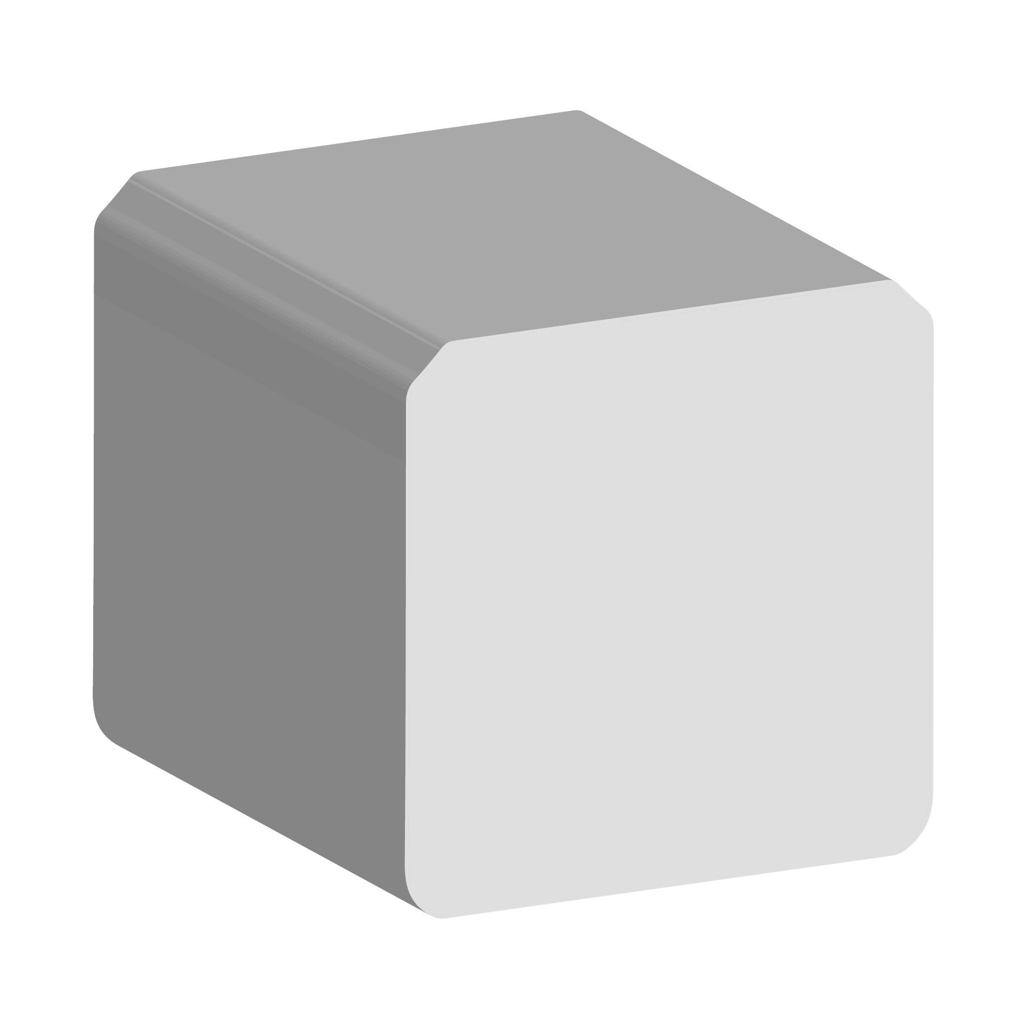 solid square composite fenders