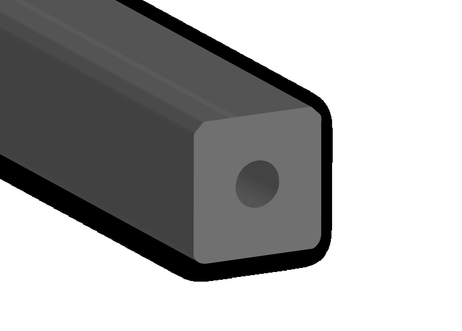 hollow square composite fenders