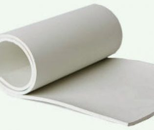 White FDA Abrasion Resistant Natural Sheeting