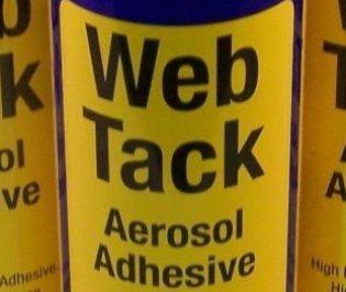 Web Tack Aerosol Adhesive