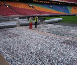 Sports Pitches Shock Pad Underlay