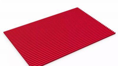 fine ribbed matting