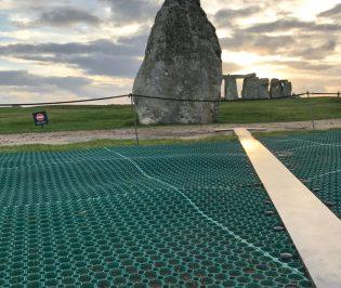 RubbaGrass Outdoor Walkway Matting at Stonehenge