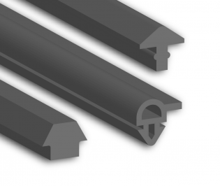 Silicone Arrow Head Profiles
