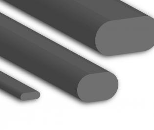 Silicone Oval Profiles