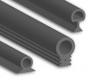 Silicone Bubble Seal Profiles