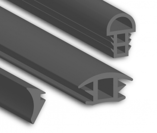 Silicone Glazing Seal Profiles