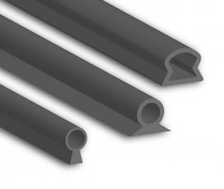Silicone Keyhole Seal Profiles